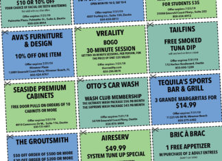 Destin Life Coupons July 2019
