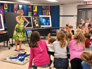 Mattie Kelly Arts Guild Lunch Kids
