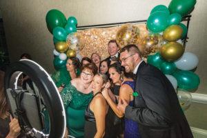 Emerald Ball Photo Booth