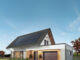 SRI solar house